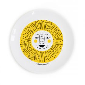 Little lion Children`s plate
