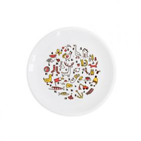 Russian alphabet Children`s plate