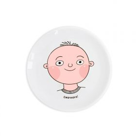 Boy Children`s plate