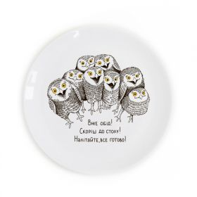 Owlets Children`s plate