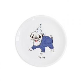 Puggy Children`s plate