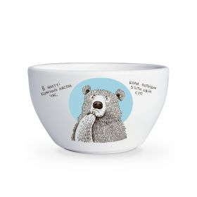 Bear and Soup bowl