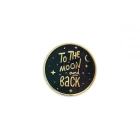 To the moon and back Pin